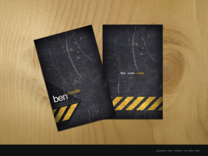 Business Card Hire A Designer