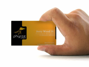 Phyrax Business Card