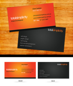 Total Simplicity Business Card