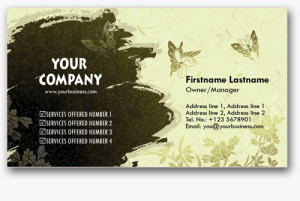 Personal Business Cards 14