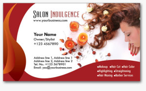 Salon Business Cards 4