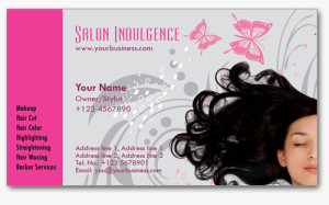 Salon Business Cards 3