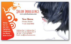 Salon Business Cards 1