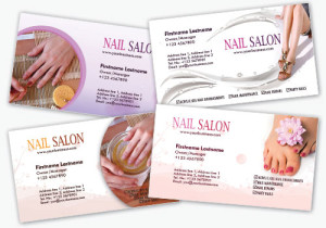 Salon Business Cards a