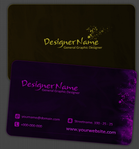 DS Free Business Card Template