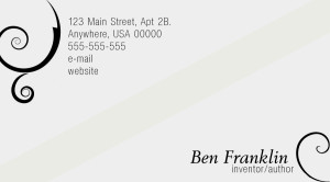 Elegance Business Card PSD