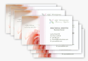 Wedding Business Card 1