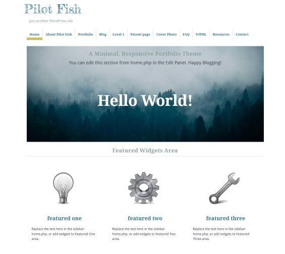 Pilot-Fish-wordpress-theme
