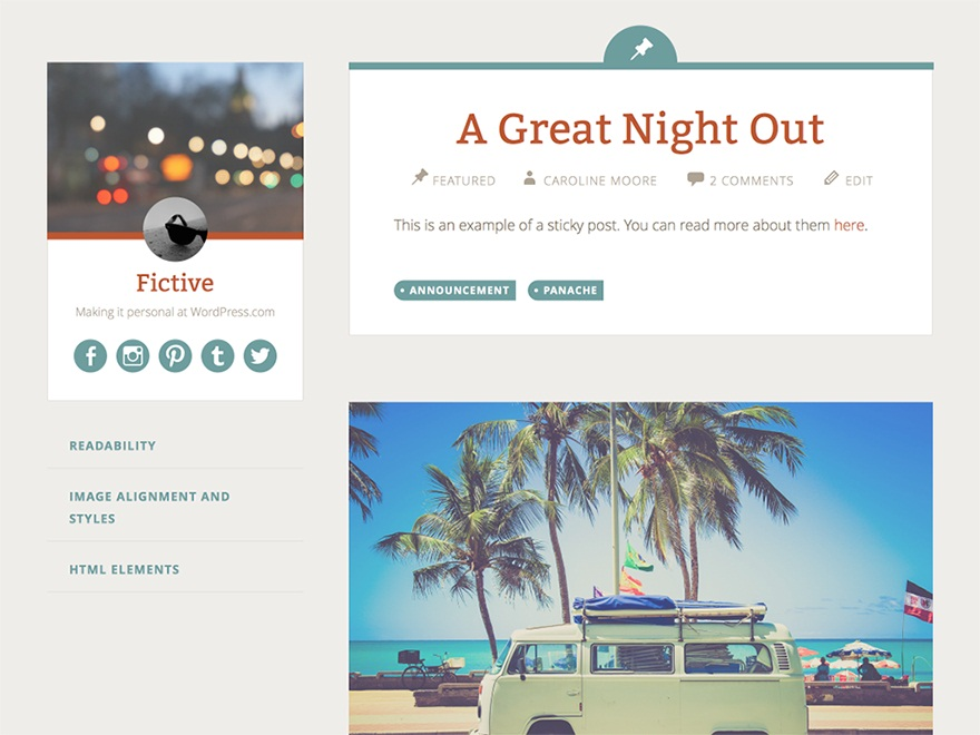 fictive-wordpress-theme