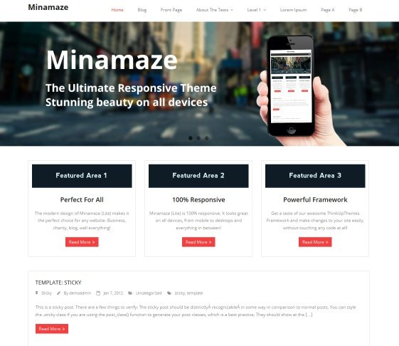 minamaze-wordpress-theme
