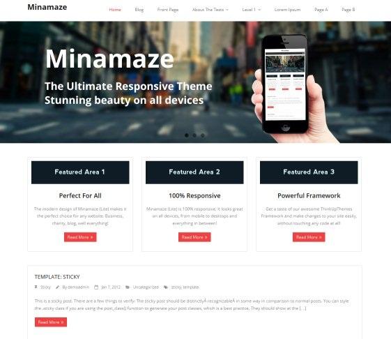 minamaze-wordpress-theme
