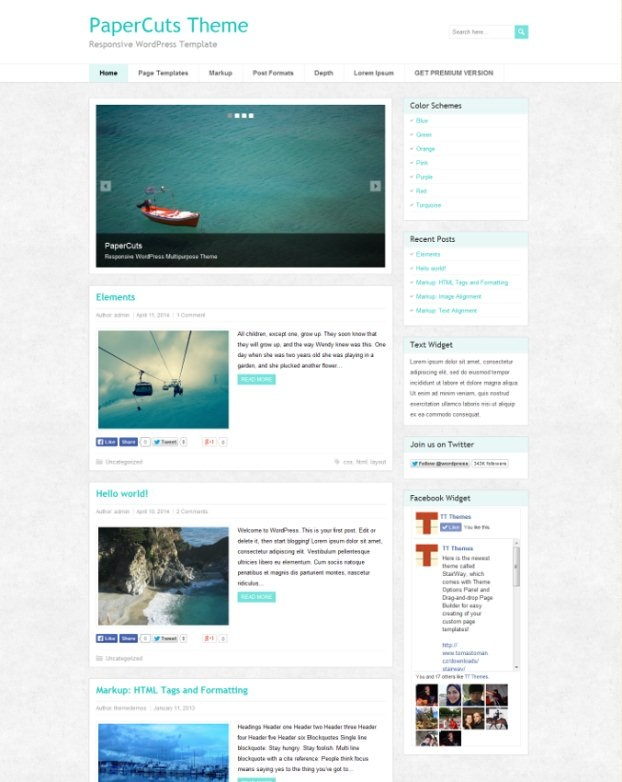 papercuts-wordpress-theme