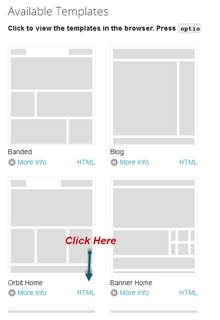 Creating Home Page Of Tourist Website In Zurb Foundation - Website code template